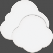 Easter- Spring Clouds Element