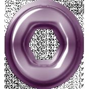 Easter- Purple Eyelet Element