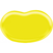 Easter- Yellow Jellybean Element
