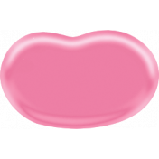 Easter- Pink Jellybean Element
