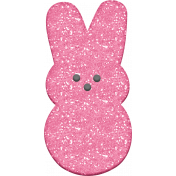 Easter- Marshmallow Bunny Pink