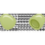 Easter- Plastic Egg Element Green
