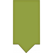 Easter- Green Tag Element
