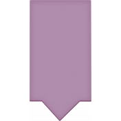 Easter- Purple Tag Element
