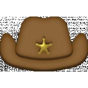 Toy Sheriff Hat Element