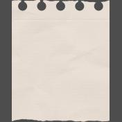 Vintage Memories- Notebook Paper Element