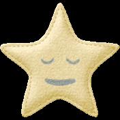 Sleepy Time- Felted Star