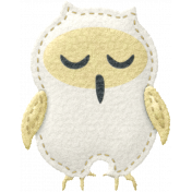 Sleepy Time- Felt Owlet