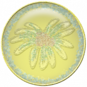 Gentle Blooms-Yellow Painted-Flower Flair