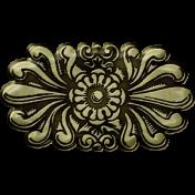 Gentle Blooms- Decorative Metal Fastener 02