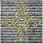 Gentle Blooms- Decorative Metal Fastener 03