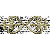 Gentle Blooms- Decorative Metal Fastener 04