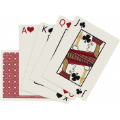 Robbie's Rockin' Red- Playing Cards
