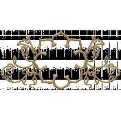 Floral Filigrees- Elements-Frame Gold