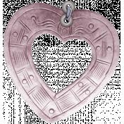In Her Memory Mini Kit- Heart Charm