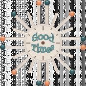 The Fab Fifties Kit- Good Times- Clock