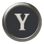 Times To Remember- Mini Kit- Typewriter Key- Y
