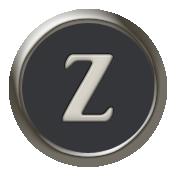 Times To Remember- Mini Kit- Typewriter Key- Z