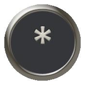 Times To Remember- Mini Kit- Typewriter Key- Asterisk