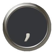 Times To Remember- Mini Kit- Typewriter Key- Comma