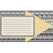 Organized Mess- Elements Kit- Journal Arrow