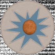 Organized Mess- Elements Kit- Button Fastener