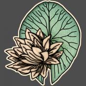 Sweet Lily- Mini Kit- Waterlily Sticker