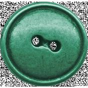 Green Metal Button- October 2020 Blog Train
