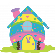 Hello Easter- Egg House