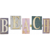 Fall Beach Vacation Embellishment 28
