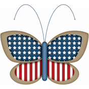 Celebrate America Butterfly #2