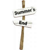 Summer's End Sign Post