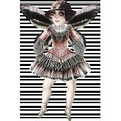 Altered Art Ballerina