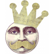 Altered Art Moon King