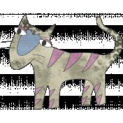 Altered Art Cat #1