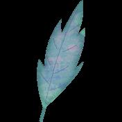 Altered Art Leaf #1