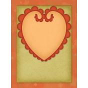 Pumpkin Spice Pocket/Journal Card #1