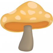 A Fall to Remember Mushroom