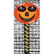 Witch's Brew Pumpkin Lollipop