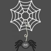 Witch's Brew Spider Web