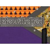 Witch's Brew Pocket/Filler Card #2
