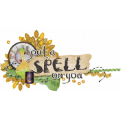 Witch's Brew Word Art #2