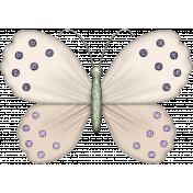 I Love Purple Butterfly