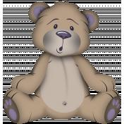 I Love Purple Bear