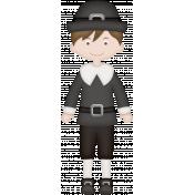Thankful Pilgrim Boy