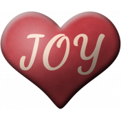 Home for the Holidays Joy Heart