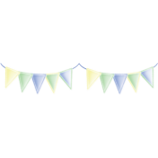 Welcome Little One Boy Banner