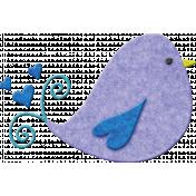 Welcome Little One Bird #2- boy