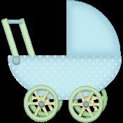 Welcome Little One Stroller- boy