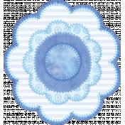 Welcome Little One Flower #4- Boy